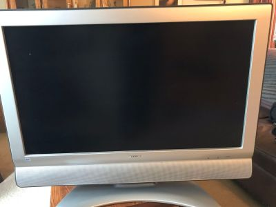 Sharp 37 flat screen TV
