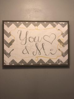 You and me decor