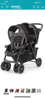 Chicco double stroller.