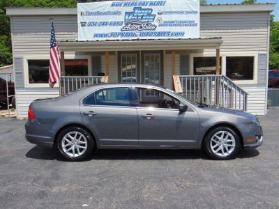 2012 Ford Fusion SEL (Gray)