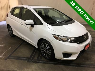 2016 Honda Fit EX (White Orchid Pearl)