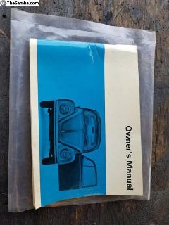 68 Owners Manual