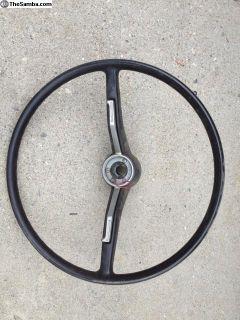 1969 Bug steering wheel
