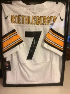 NFL Authentic Nike Autographed Ben Roethlisberger Jersey
