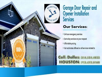 24-hour Emergency Garage Door Repair Service Arlington, TX