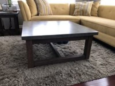 Concrete Coffee and End Tables