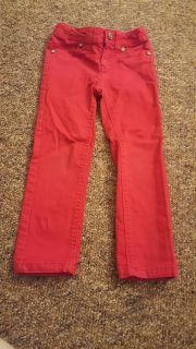 Red Sonoma adjustable waist jeans size 4
