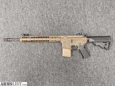 For Sale: USED: LWRC M6 A2 SPR MOD 0, FDE
