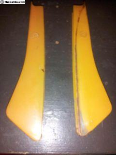 OG Used Yellow Semaphore Lenses