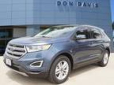 2018 Ford Edge Blue, new