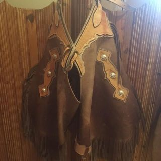 Authentic Leather Chaps