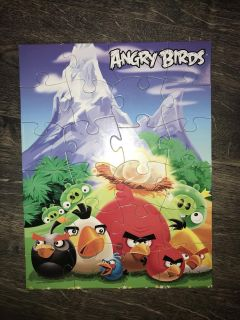 Angry Birds puzzle. 24 pcs.