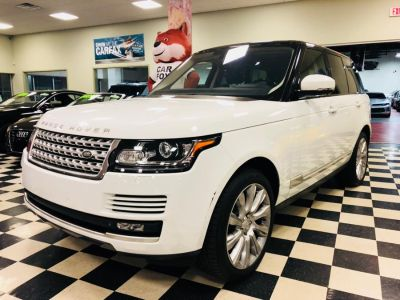 2015 Land Rover Range Rover 4WD 4dr Supercharged (White)