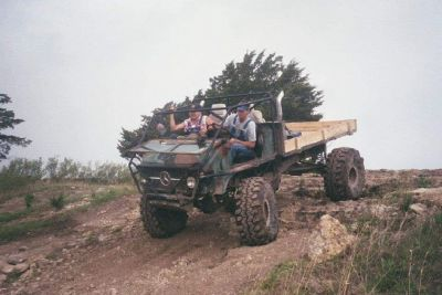 1960 Unimog Rock Crawler
