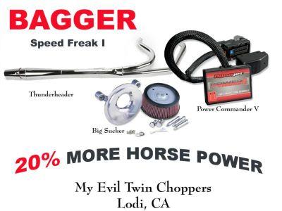 Sell Speed Freak I Kit -Stage I Kit-Thunderheader, K&N, Power Commander motorcycle in Lodi, California, US, for US $1,065.00