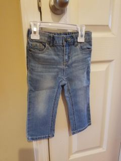 *Gently Used* Cherokee Jeans- 18 months