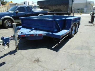 2015 Air Tow 12' UT12-10 Equipment Trailer RTR#7071054-02