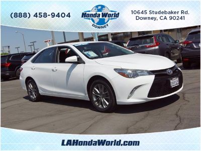 2016 Toyota Camry L (white)