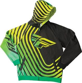 Sell FLY Racing Sonar Hoody Green/Black motorcycle in Holland, Michigan, United States, for US $76.46