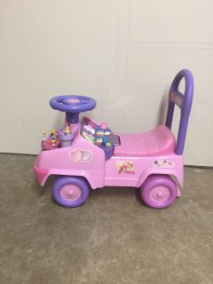 Little girls ride on toy