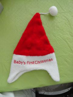 ''BABY'S FIRST CHRISTMAS'' SANTA HAT