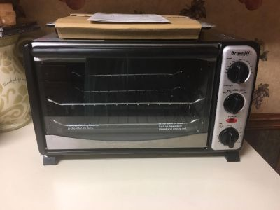 Bravetti Platinum Pro 6 Slice Convection Toaster Oven Brand New never used