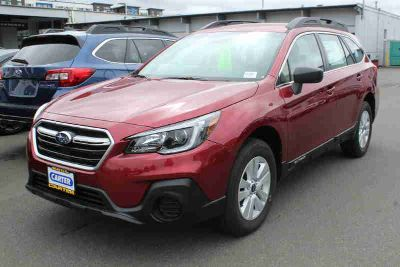 2019 Subaru Outback Red, new