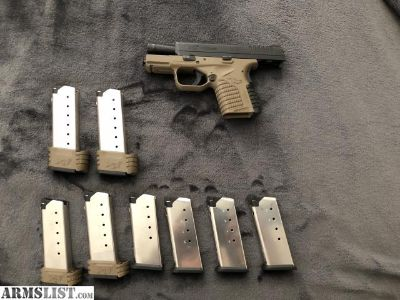 For Sale: Springfield XDS 3.3 .45