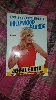 Deep thoughts from a hollywood blonde Jennie Garth paperback $1