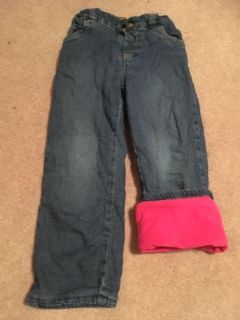 Nice, comfy and warm lined pants 4T