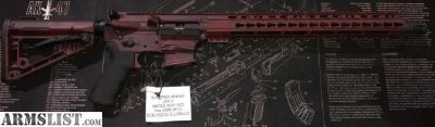 For Sale: Life Free Armory 9MM Custom AR15 LFG-9