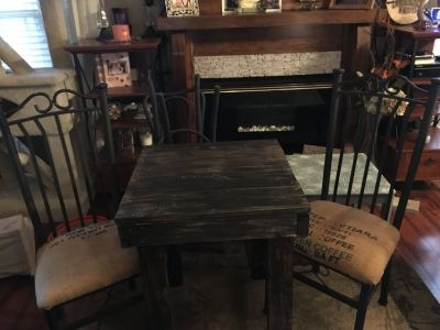 Bistro country kitchen table set