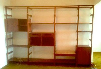 Vintage Teak & Rosewood Freestanding Modular Unit