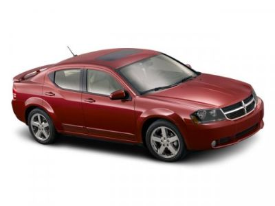 2008 Dodge Avenger SXT (Silver Steel Metallic)
