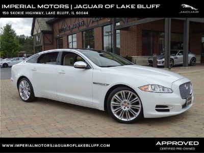 2015 Jaguar XJL Portfolio (Polaris White)