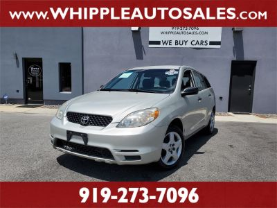 2003 Toyota Matrix Base (Silver)