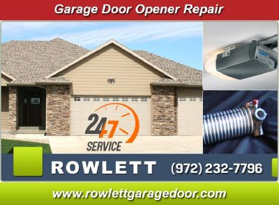 Same Day | Garage Door Opener Repair ($25.95) Rowlett Dallas, 75087 TX
