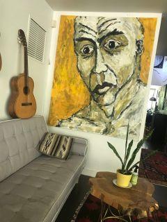 Vintage Painting Large Format Portrait by Rinaldi