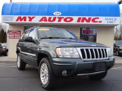 2004 Jeep Grand Cherokee Limited (Deep Beryl Green Pearl)