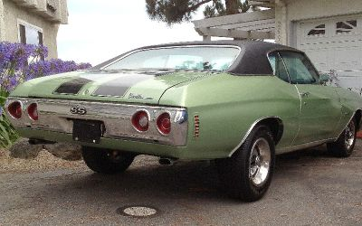 """1972 Chevelle SS a real SS """"J"""" code in VIN#"""