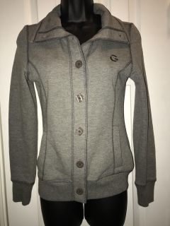 G by Guess button down sweater/jacket