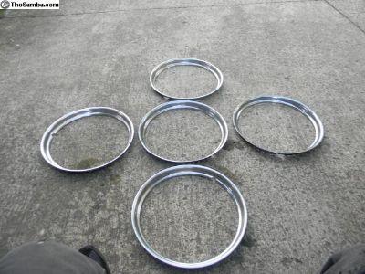"""15"""" Trim rings"""