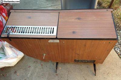 Bay window Westfalia refrigerator