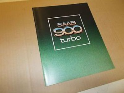 Sell Saab NOS Sales Brochure 1979 900 Turbo motorcycle in Jacksonville, Florida, United States, for US $25.00
