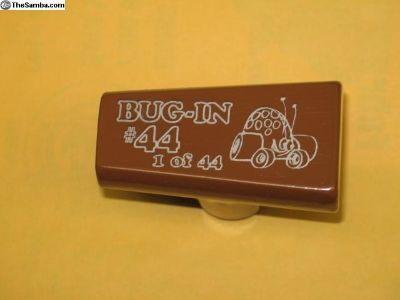 BUG-IN #44 limited run Gene Berg shifter handle.