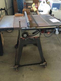 10 inch Sears table saw