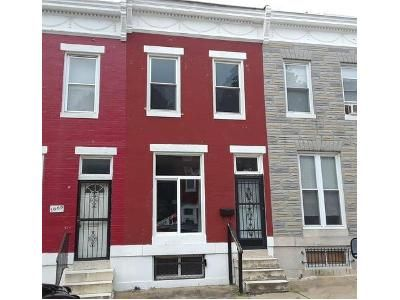 3 Bed 1 Bath Foreclosure Property in Baltimore, MD 21223 - W Lombard St