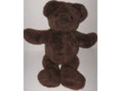"The Maine Bear Factory Dark Brown Teddy Bear 16"" Plush"