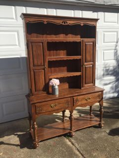 Stunning Davis Cabinet Company Solid Wood Buffet And Hutch China Cabinet
