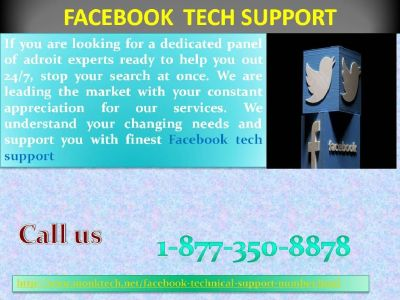 A cruise towards tech excellence: Facebook Tech Support 1-877-350-8878